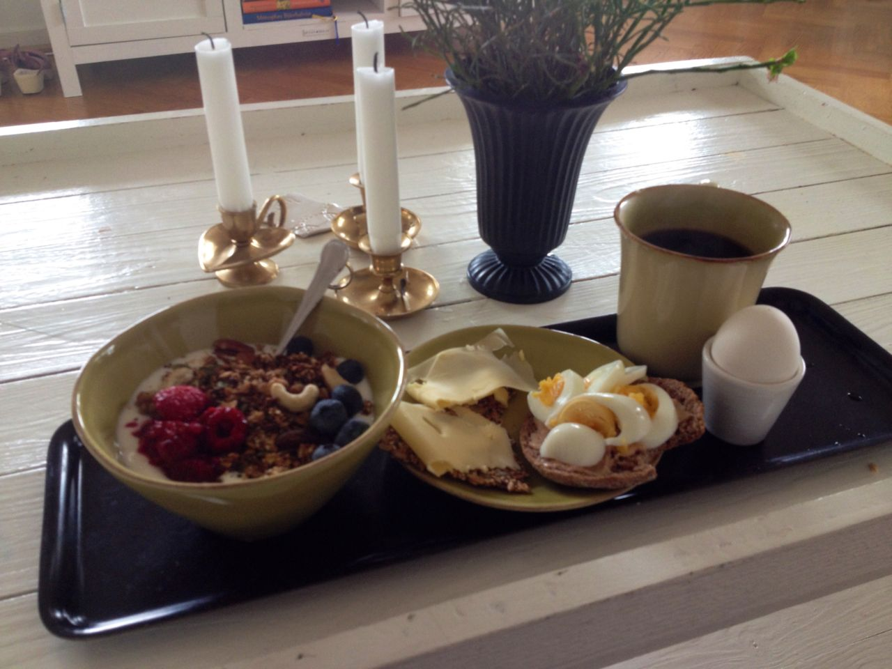 Frukost som en kung