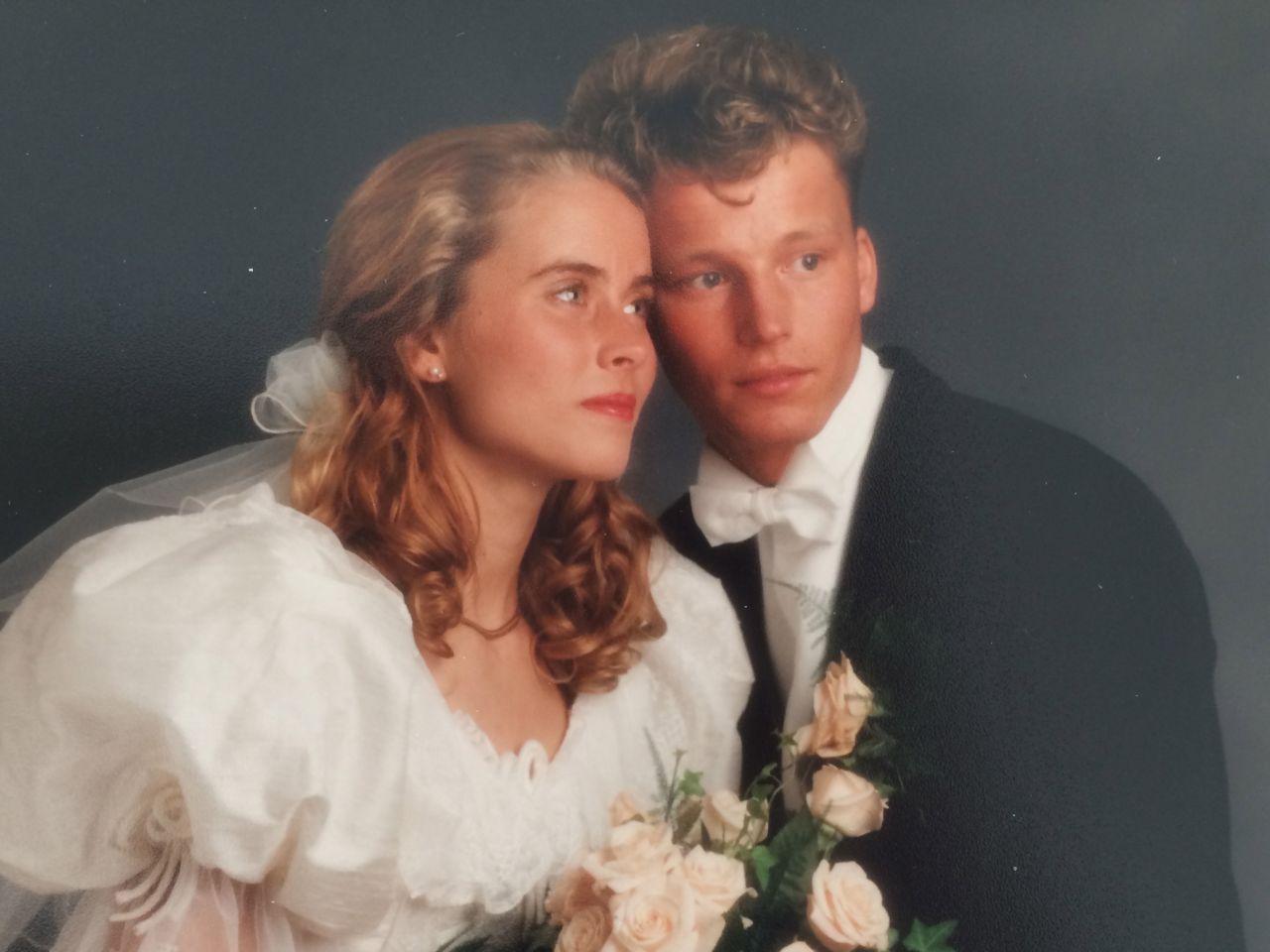 Bröllopsdagen som hemligheten förstörde